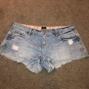 Rip curl jean shorts